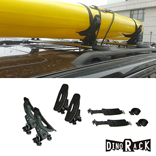 1-Set-of-4-Soft-Rubber-Saddles-Cradle-Pads-Kayak-Carrier-Top-Mount-Rack-Suv-Truck-For-Canoe-Boat-Sail-Board-with-2-Straps