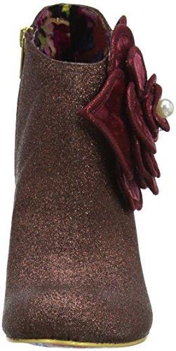 Irregular Choice Pearl Necture - Botines Mujer Red (Bordo)