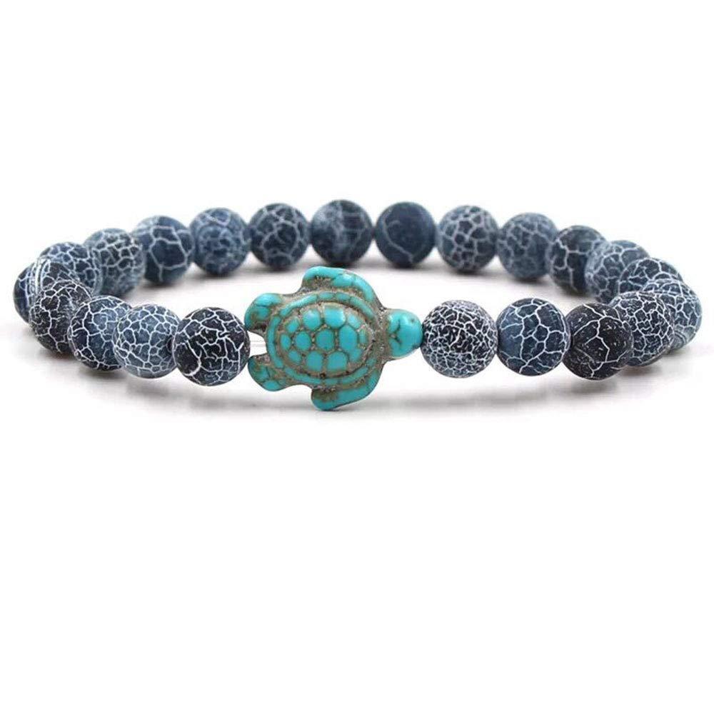 Ocean & Co Sea Turtle Bracelet (Grey) by Ocean & Co