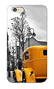Mooseynmv Iphone 6 Well-designed Hard Case Cover Vintage Yellow Car Ingray City Protector