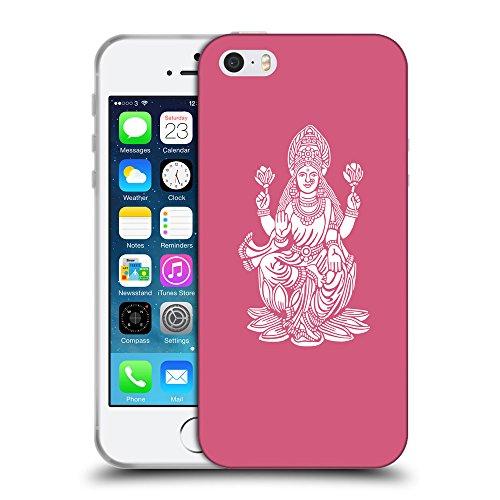 GoGoMobile Coque de Protection TPU Silicone Case pour // Q09540614 Hindou 8 Rougir // Apple iPhone 5 5S 5G SE