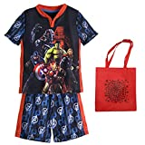 Marvel Avengers: Age of Ultron Little Boys' Pajama Set & Tote - 3 Piece Gift Set (6)