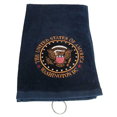 Presidential Seal Golf Towel - Navy