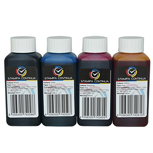 Tinta especifica para la carga de las impresoras Epson ...