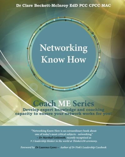 Networking Know How (Coach ME) (Volume 1) ebook
