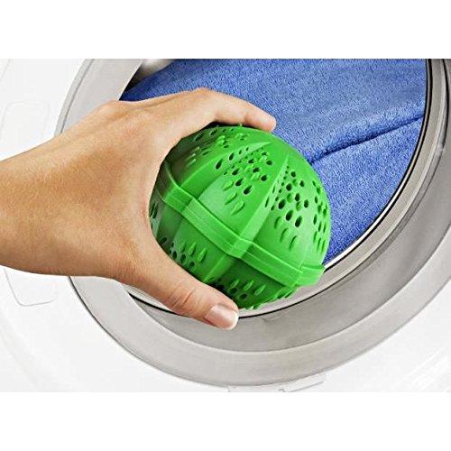 Öko Waschball grün 1 Stück Waschball Waschkugel Wäsche Ball Wäscheball Wäschereinigungskugel Waschen