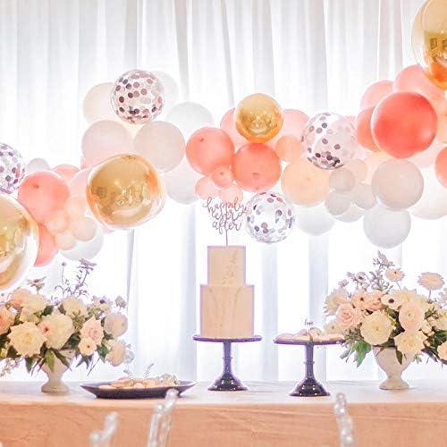 Rose Gold Balloons Custom Balloon Garlands Bouquets set of 36122550 Mini 5 Large 12 Birthday Balloons Wedding Baby Shower Hen Do