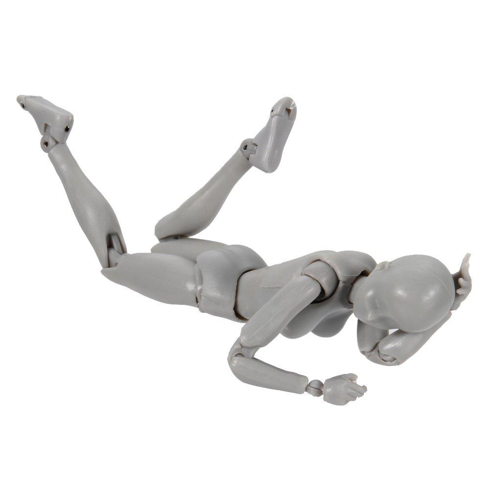 eamqrkt Body Chan /& Kun mu/ñeca Masculina Femenina DX Set PVC Movebale Figura de acci/ón Modelo para Regalos SHF