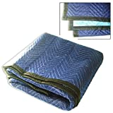 Blue/ Black Moving Blanket