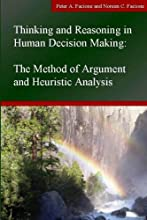 Thinking and Reasoning in Human Decision Making