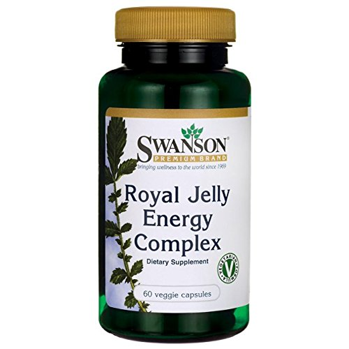 Swanson Royal Jelly Energy Complex 60 Veg Caps