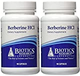 Cheap Biotics Research, Berberine HCL (90C) (2 PACK)