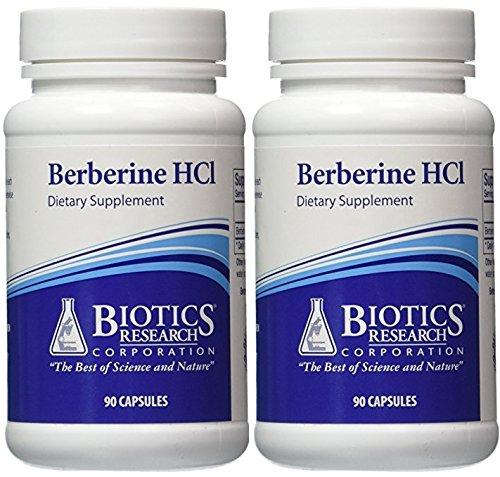 Cheap Biotics Research, Berberine HCL (90C) (2 PACK)