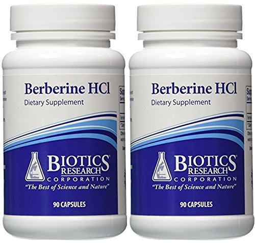 Biotics Research, Berberine HCL (90C) (2 PACK)