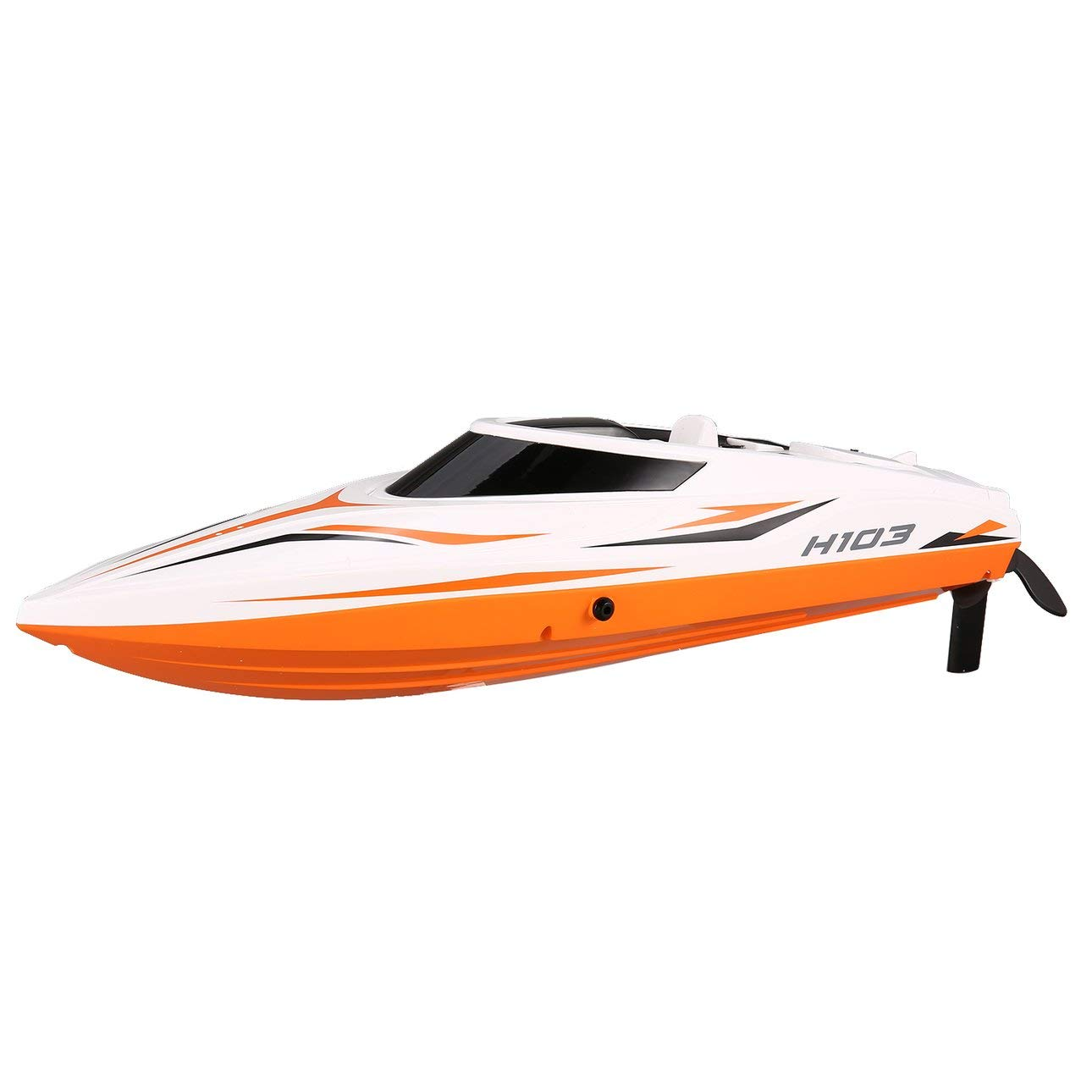 Liobaba 2.4G 4CH 30km/HRC Boat High Speed Racing 28km/h Remote Control Boat 180° Flip LCD Screen as Gift Children Toy Kid