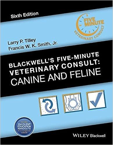5 Minute Veterinary Consult Pdf