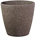 Stone Light SL Series Cast Stone Round Planter, 11-Inch, Mocha Sandstone, 6-Pack Review