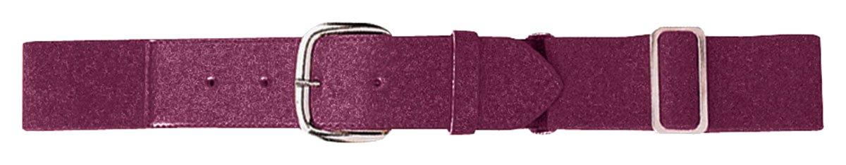 Augusta Sportswearメンズ伸縮性野球ベルト B00YOJ1PVQ One Size|マルーン マルーン One Size