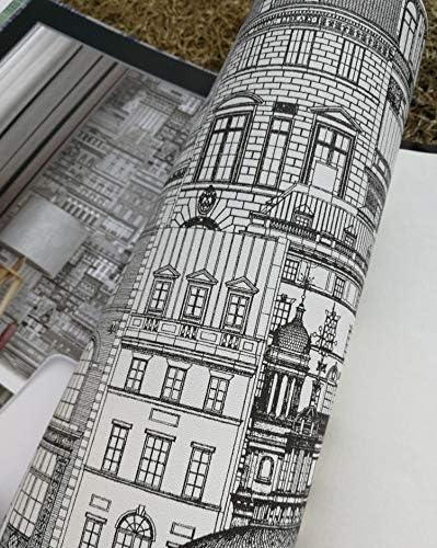 壁紙 レンガ 防音シート 防水 壁紙 断熱 DIYクッション シール シート立体 壁用 壁紙 はがせ オフィスPVC壁紙現代のシンプルなダイニングルームベッドルームリビングルームのソファの背景の壁ペーパー壁紙装飾壁装飾材 (Color : A)