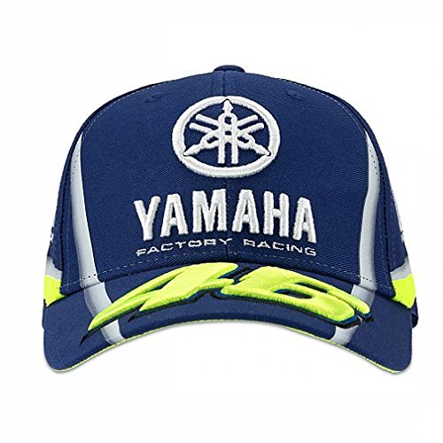 Valentino Rossi VR46 Moto GP M1 Yamaha Factory Racing Team Cap Official 2018