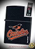 218 Baltimore Orioles MLB Lighter with Flint Pack - Premium Lighter Fluid (Comes Unfilled) - Made in USA!