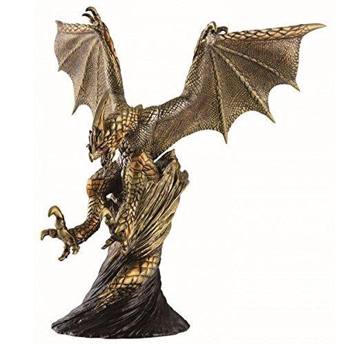 Most lottery Monster Hunter 4G last one Prize Seruregiosu monster trophy gold color ver. (Gold Trophy Figure)