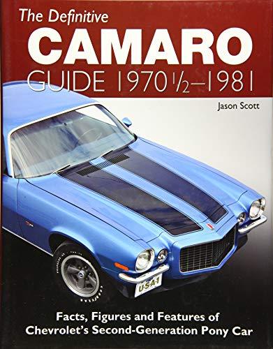 Camaro History - The Definitive Camaro Guide: 1970-1/2 - 1981