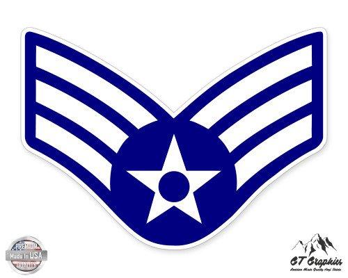 US Air Force E4 Senior Airman Rank - 3