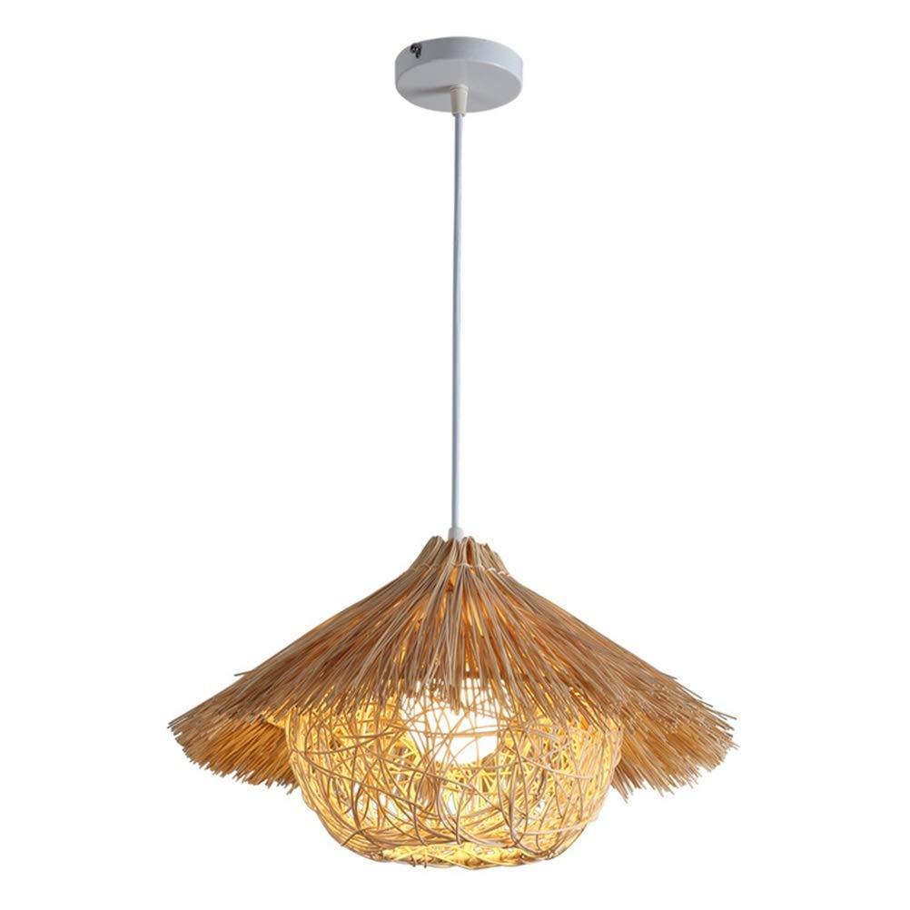 天井照明シャンデリア 牧歌的なペンダントライトledレストランシャンデリアレストランティーハウス天井照明リビングルームの寝室の装飾フィクスチャ 屋内照明   B07TXGR153