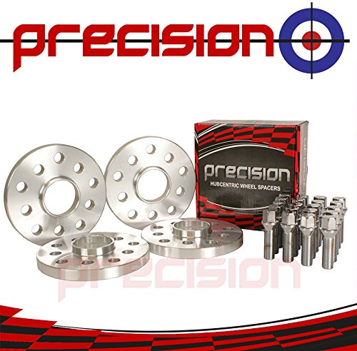 20mm Hubcentric Spacers 2 Pairs + Bolts for À udi TT with Aftermarket Wheels MK1, MK2, MK3 Part No. 4PHS2+20BM1445173 Precision