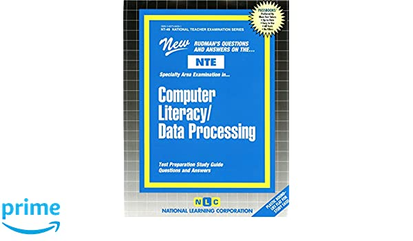 Computer Literacy/Data Processing (NATIONAL TEACHER