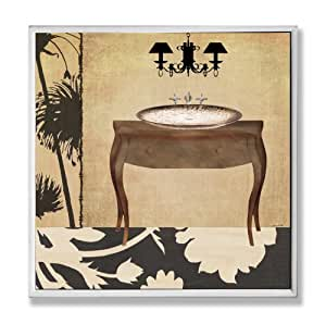 amazon home decorators collection the stupell home decor collection vanity with 10343