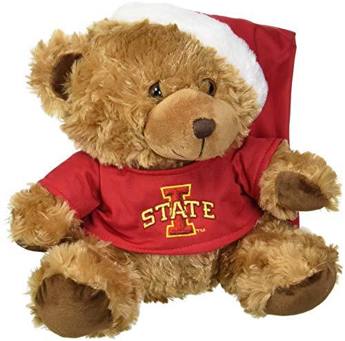 Iowa State Bear With Santa Hat