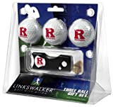 Rutgers Scarlet Knights NCAA Spring Action 3 Golf Ball Gift Packs