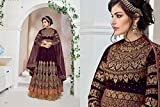 Bollywood Bridal Long Anarkali Suit Kaftan Party Wedding Wear Women Muslim Ceremony Festival By Ethnic Emporium 370
