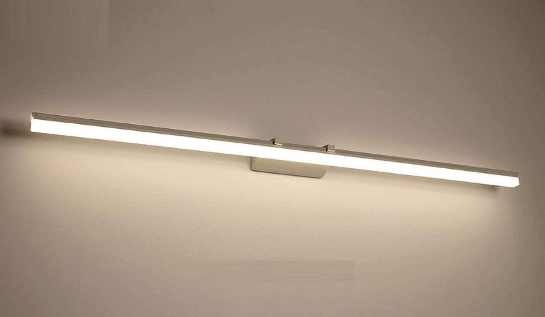 Nouler Einfache Moderne Spiegelscheinwerfer-Badezimmerlampen Führten Kabinettlichter Wasserdichte Anti-Nebel Badezimmerlichter