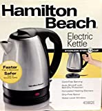 (Ship from USA) Hamilton Beach Stainless Steel 7.2 Cup Electric Tea Kettle 40882E Teapot-NEW! /ITEM NO#E8FH4F854126511