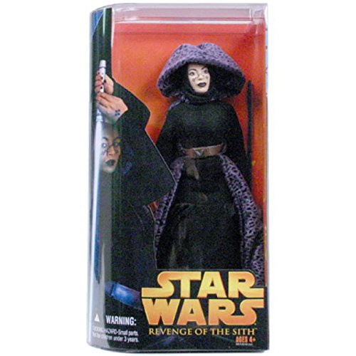 Hasbro Star Wars Revenge of The Sith Barriss Offee Deluxe Action Figure