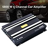 YaeCCC C-266 Car 4 Channel Power Amplifier Stereo Audio Super Bass Sub Woofer Amp 12V