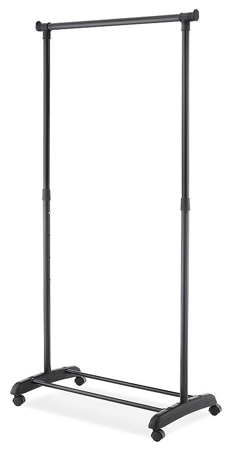 Superieur Whitmor Deluxe Adjustable Garment Rack + Shoe Rack With 4 Wheels W/ Locking  | Practical