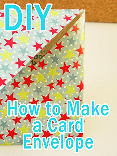 DIY How to Make a Card Envelope
