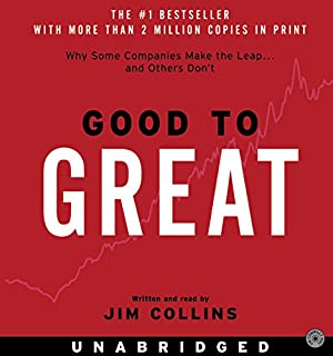 Book Cover: Good to Great CD: Why Some Companies Make the Leap...And Others Don't