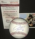Domingo Santana Milwaukee Brewers Autographed Signed Official Major League Baseball JSA WITNESS COA