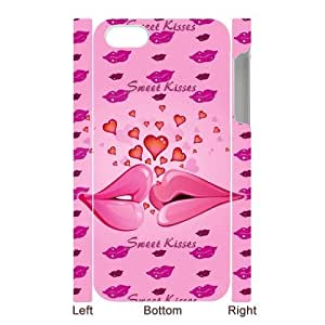 Generic Personalized Otterbox--Design All for Love Kisses Custom 100% Plastic Case Cover for iPhone5