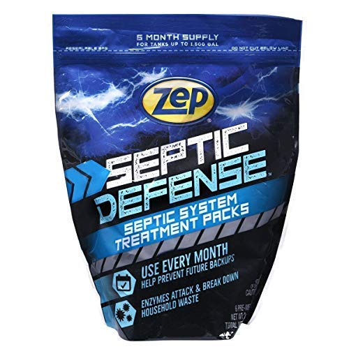 Zep ZSTP6 Septi-Pack Concentrated Septic Treatment 12 Ounces by Zep