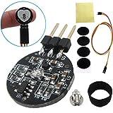 Tragoods Heart Rate Monitor Sensor for Arduino, Pulse Sensor Plug-in for Arduino, Pulse Sensor Pulsesensor Sensor Module