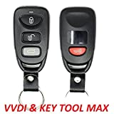 Style Universal Car Remote for VVDI VVDI2 Mini Key Tool Max 4 Buttons for Hyundai (Wired)