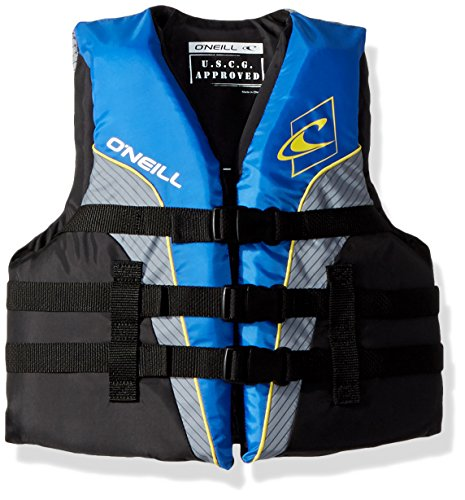 (O'Neill Wetsuits  Youth SuperLite USCG Life Vest,Pacific/Smoke,50-90)