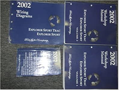 2002 ford explorer sport trac service shop repair manual set factory 2002 ford explorer sport trac service shop repair manual set factory 02 books 2 volume set wiring diagrams manual and the specifications manual fandeluxe Gallery