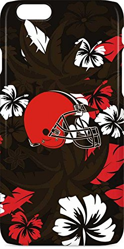 Skinit NFL Cleveland Browns iPhone 6s Lite Case - Cleveland Browns Tropical Print Design - Ultra-Thin, Lightweight Phone Cover